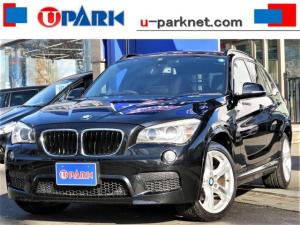 BMW X1 sDrive 18i Mスポーツ HDDナビ・DTV・Bカメラ・BTオーディオ・DVD再生・AUX・スマートキー・ミラー型ETC・本革巻ステアリング・オートライト・ミラーウィンカー・HIDライト・Fフォグ・18AW・GPSレーダー