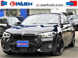 BMW 1シリーズ 118d Mスポーツ エディションシャドー コンフォートPKG ・ACC・インテリS・茶革・1オーナー・NewiDriveナビ・Bカメラ・Cソナー・LDW・18AW・USB・BTオーディオ・USB・シートヒーター・ETC・Pアシスト・記録簿
