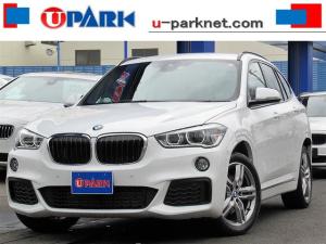 BMW X1 xDrive 18d Mスポーツハイラインパッケージ 黒革・ACCインテリS・NewiDriveナビ・Bカメラ・Pアシスト・LDW・Pバックドア・Cソナー・スマキー・LEDライト・シートヒーター・BTオーディオ・AUX・USB・ETC・記録簿