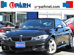 BMW 4シリーズ 420iグランクーペ Mスポーツ インテリS・NewiDriveナビ・Bカメラ・DTV・走行中OK・クルコン・Cソナー・スマキー・ETC・LDW・Pバックドア・18AW・パドルシフト・H27・28・31・R3年点検記録簿有り