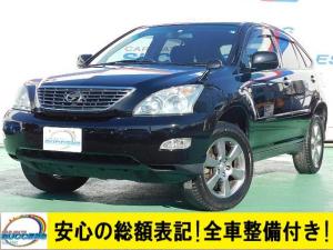 トヨタ ハリアー 240G Lパッケージ HDDナビ ETC Bカメラ HID