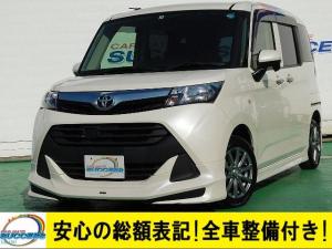 トヨタ タンク X 禁煙車 Mナビ Fセグ 左PSD ETC モデリスタエアロ サテライトスピーカー