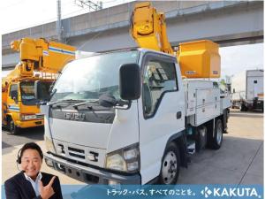 いすゞ エルフトラック 高所作業車 タダノ 9.9m 電工仕様