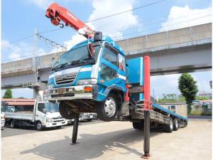 UDトラックス コンドル 4段セルフ RC 回送用ボデー 自動アユミ 積載7.1t