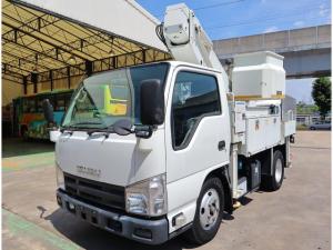 いすゞ エルフトラック タダノ 9.9m 絶縁バケット200kg