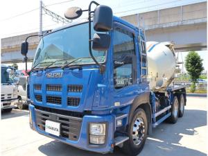 いすゞ ギガ カヤバ ドラム容量8.7立米 積載9.84t 車検付 2デフ