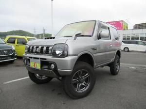 スズキ ジムニー ランドベンチャー 5MT 4WD リフトアップ 社外テール 背面タイヤ ミラーヒーター フル装備 CD USB BTオーディオ キーレス 革巻きステア ハーフレザー シートヒーター HID 純正AW 電格ミラー