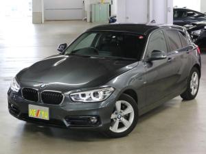 BMW 1シリーズ 118i スポーツ 衝突軽減ブレーキ 車線逸脱警報 前後ドラレコ クルコン パーキングセンサー iDrive バックカメラ Bluetooth DVD ETC アイドリングストップ ランフラット スペアキー・記録簿・取説