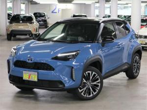 トヨタ ヤリスクロス ハイブリッドZ パノラミックビューモニター ハンズフリーパワーバックドア BSM・RCTA ルーフレール ディスプレイオーディオ Bluetoothオーディオ シートヒーター LEDヘッドライト 登録済未使用車