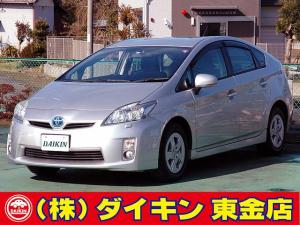 トヨタ プリウス S LEDエディション SDナビ 地デジ Bモニター DVD再生 スマートキー LEDライト
