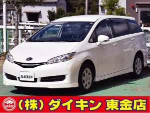 トヨタ ウィッシュ 1.8X SDナビTV Bモニター ウインカーミラー ETC ワンオーナー 禁煙車