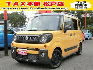 スズキ スペーシアギア HV XZ届出済未使用車/衝突軽減ブレキ/両側電動スライドD