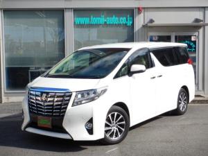 トヨタ アルファード 3.5GFメーカー9.2型ナビゲーションシステム本革シート