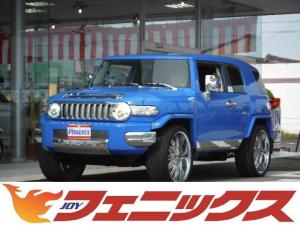 米国トヨタ FJクルーザー 4WD左ハンドルナビTV24インチメッキアルミキーレス
