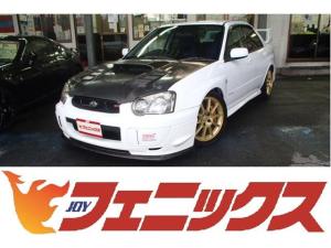 スバル インプレッサ WRX STi E型モデル!東名ECU&マフラー!BLITZ車高調KIT!ブレンボブレーキ&ディクセルローター!VARISカーボンボンネット!STIフロントスポイラー!4連追加メーター!キーレス