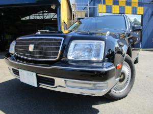 トヨタ センチュリー フロアシフト 6速オートマ デュアルEMV LEDヘッドライト LEDフォグ 純正LEDテール 電動リヤカーテン リフレッシングシート 後席DVD再生 シートヒーター バックカメラ