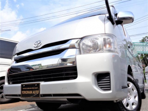 トヨタ ハイエースワゴン グランドキャビン 4型4WD6AT1オーナー禁煙メモリーフルセグBカメラパワースライドドアリアフォグランプ黒革調