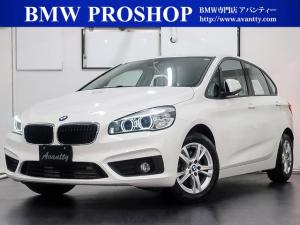 BMW 2シリーズ 218dアクティブツアラー 1オナDアシストPサポートPKG