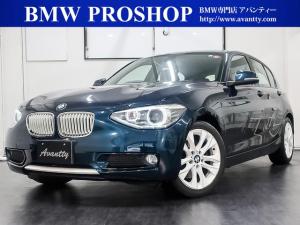 BMW 1シリーズ 116i スタイル ハーフレザー HDDナビ キセノン 純正AW