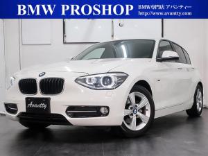 BMW 1シリーズ 116i スポーツ 1オナ HDDナビ 地デジ Bカメラ キセノン