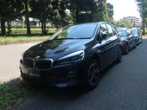 BMW 2シリーズ 218dグランツアラー スポーツ 後期 1オナ コンフォートPKG Pアシスト
