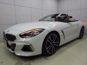 BMW Z4 M40i アクティブクルーズコントロール ヘッドアップディスプレイ コニャックレザーシート ハーマンカードンスピーカー 正規認定中古車