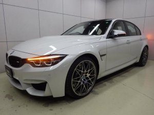 BMW M3 M3セダン コンペティション クルーズコントロール ヘッドアップディスプレイ ブラックメリノレザーシート 正規認定中古車