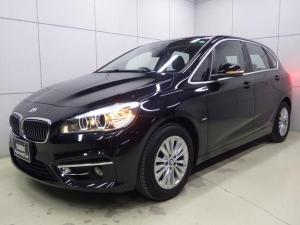 BMW 2シリーズ 218dアクティブツアラー ラグジュアリー セイフティパッケージ パーキングサポートパッケージ アクティブクルーズコントロール ヘッドアップディスプレイ ブラックレザーシート 正規認定中古車