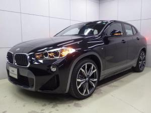 BMW X2 xDrive 18d MスポーツX ハイラインパック アドバンスドセイフティパッケージ コンフォートパッケージ アクティブクルーズコントロール ヘッドアップディスプレイ ブラックレザーシート 20インチアロイホイール 正規認定中古車