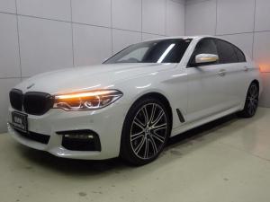 BMW 5シリーズ 523i Mスポーツ ハイラインパッケージ ブラックレザー・イノベーションパッケージ・20インチアロイホイール・サンルーフ・Mブレーキ・ジェスチャーコントロール・HDDナビ・Bluetoothオーディオ・バックカメラ・ハンズフリー・