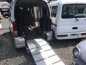 スズキ エブリイワゴン 福祉車両 車いすスロープ エアコン パワステ Wエアバック