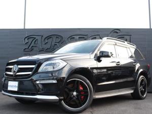 メルセデス・ベンツ GLクラス GL63 AMG 純正HDDナビテレビ リアエンターテイメント 黒革 パノラマルーフ AMG21インチアルミ AMGマフラー ベンチレーションシート 360度カメラ 7人乗り 電動サードシート パワーバックドア 記録簿