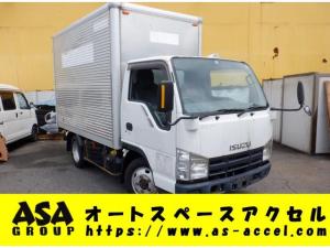 いすゞ エルフトラック  ディーゼル パネルバン 4WD バックカメラ 最大積載量1500キロ