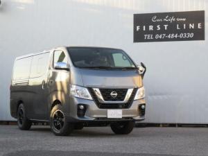 日産 NV350キャラバンバン ロングプレミアムGXターボ 4WD ディーゼル ステップベッド 床張り施工 車中泊 トランポ 登録済み