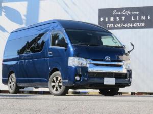 トヨタ ハイエースバン SロングワイドDX GLパッケージ 床張り施工 ナビ バックカメラ LEDヘッドライト リアクーラー