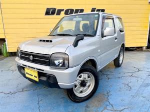 スズキ ジムニー XG 4WD 直列3気筒DOHC12バルブICターボ CD AUX ETC キーレス Wエアバッグ ABS ヘッドライトレベライザー ドアバイザー 背面スペアタイヤ 取扱説明書&保証書 タイミングチェーン