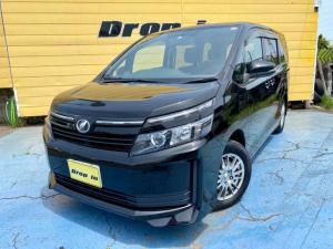 トヨタ ヴォクシー X 1オーナー禁煙車 パワースライドドア ナビTV バックカメラ CD AUX Bluetooth ETC オートLEDライト 横滑り防止装置 アイドリングストップ ドアミラーウィンカー ドアバイザー