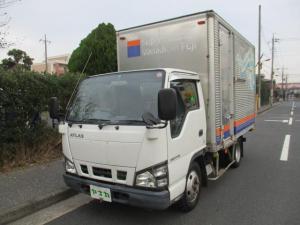 日産 アトラストラック 4.8デイーゼル 2トン アルミバン オートマ