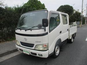 トヨタ ダイナトラック Wキャブロングジャストロー 6人乗り 積載量1250K