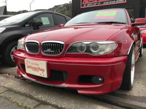 BMW 3シリーズ 318Ci Mスポーツ 叩き出しオーバーフェンダBBSアルミ
