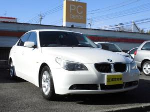 BMW 5シリーズ 525i 純正ナビ ETC 2.5L 192馬力