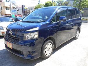 トヨタ ヴォクシー X Lエディション 左電動スライドドア ナビ バックカメラ ワンセグ HID スマートキー ETC DVD再生機能