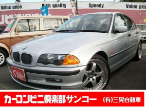 BMW 3シリーズ 318i 5速 社外ナビ テレビ ETC 記録簿付 禁煙車 18インチアルミ