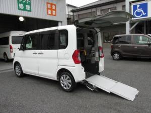 ダイハツ タント  福祉車Lスロープタイプ・車イス電動ウインチ・フル装備・禁煙車・リモコンキー