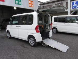 ダイハツ タント  福祉車Lスロープタイプ・車イス電動ウインチ・ナビ付