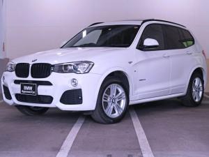 BMW X3 xDrive 20d Mスポーツ パノラマサンルーフ 黒革