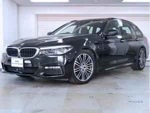BMW 5シリーズ 523iツーリング Mスポーツ ハイラインパッケージ 黒革 イノベーションパッケージ 電動パノラマガラスサンルーフ 19AW