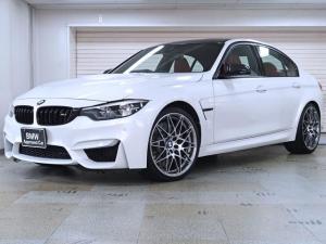 BMW M3 M3セダン コンペティション 赤革 450ps BMW認定中古車 ブラックグリル 20AW