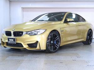 BMW M4 M4クーペ MDCT ブラックレザー パーキングサポートパッケージ トップビュー サイドビュー パーキングアシスト BMW認定中古車1年保証