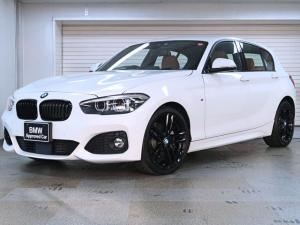 BMW 1シリーズ 118i Mスポーツ エディションシャドー 茶革 アクティブクルーズ BMW認定中古車 18AW